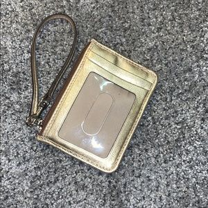 ID holder keychain